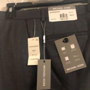 Michael Kors Men's Grey Dress Pants 33x30